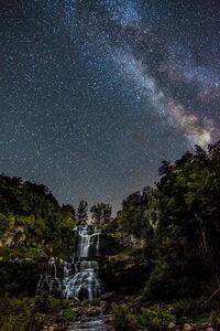 Waterfalls at Night (Chittenango)