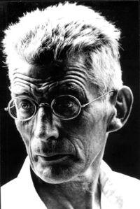 Samuel Beckett while Making »Film«
