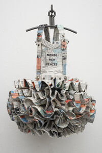 Dress Quilt: Mends Her Fences
