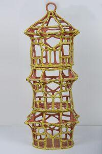 Large Yellow Pavilion Birdcage