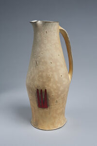 Pitcher with Red