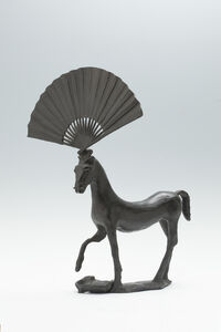 Horse with Fan