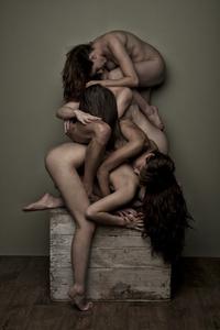 Girl Pile