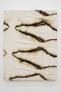Untitled (Burnt Canvas I)