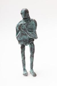 Bronze with towel