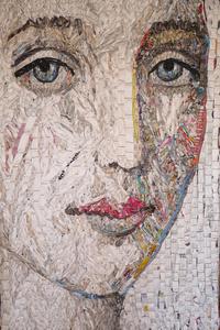 FEMALE HEAD/ MADONNA #26