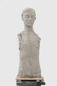 Unfired Clay Torso