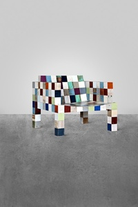 No. 32 Waste-Waste 80 x 80 Armchair