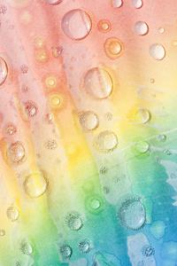 Untitled (Melting Rainbows 022)