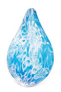 Aqua Barnacle Shimmer Vessel