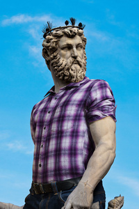 Hipster in Stone XVII - Hercules