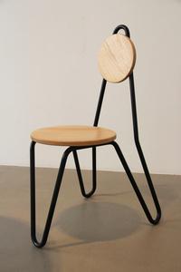 CF02, Chair, ash-tree, massiv