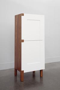 A One Door Two Door Cabinet