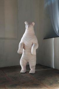 Plush Mummy Big Mouse