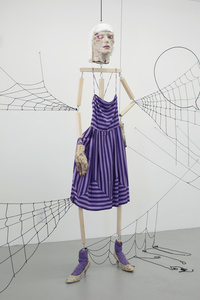 Spider Woman Purple Dress
