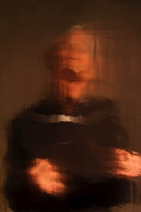 Study for a screaming priest