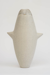 White Vase with Lugs