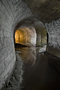 Lavender Creek Culvert, From the series Water Underground