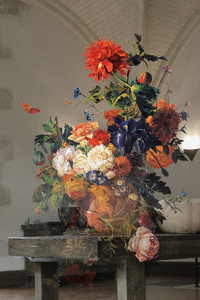 The Costume of Painter - Still Life with Poppy 3D