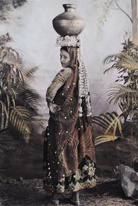 Chandra with a Shell Headress