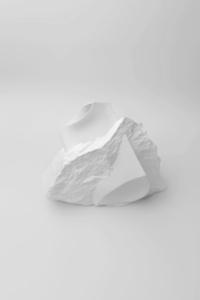 New Stoneware White Porcelain Vase No.1