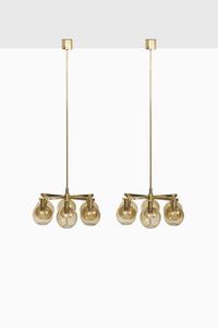 Hans-Agne Jakobsson ceiling lamps model T-348/6