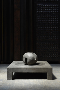 """Espace établi"" sculpture"