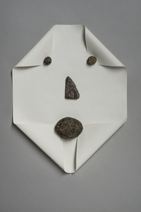 Untitled (Rocks and Paper)