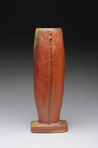 Tall Ovaled Vase