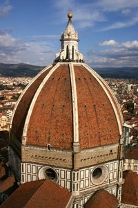 Florence Cathedral (Duomo), drum and dome
