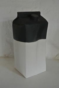 Milk Carton Vase