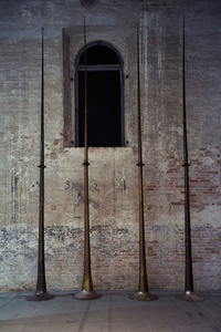 Last Trumpet (Installation view)