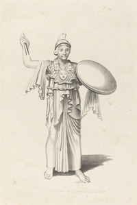 Minerva, From a Bronze by Daedalus