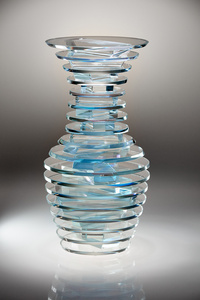 Middy Polished Plate Glass Vase #16