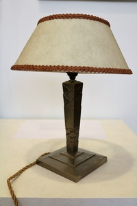 Table Lamp by Edgar Brandt, Art Déco, France