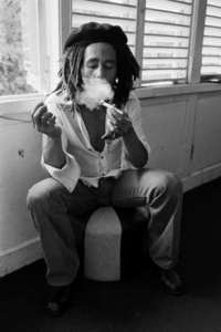 Bob Marley at home (Tuff Gong) in Kingston, Jamaica. Interview Session #3