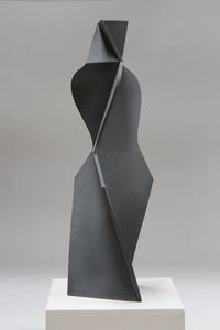 Dark Grey, Pencil Skirt Girl