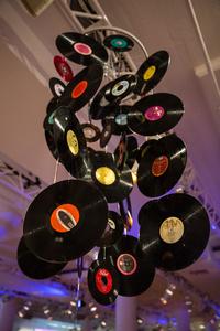 Record Chandelier