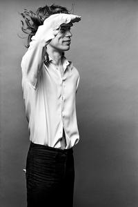 "Mick Jagger, ""Mick Saluting"", Los Angeles"