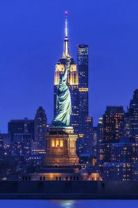 Empire Liberty Yellow & Blue