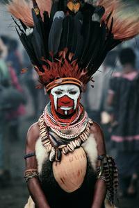 New Guinea Dancer, Mt. Hagan, Papua New Guinea