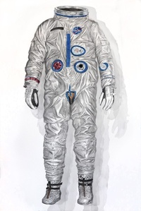 Early Gemini Space Suit