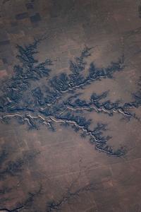 United States, Oklahoma, fields near Hardesty