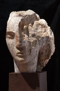 Quartzite Head of a Woman I