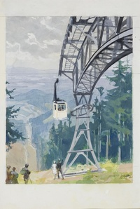 The Schauinsland Cable Car