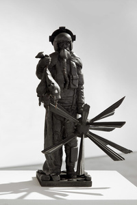 Maquette for As ye sow so shall ye reap: An Allegory