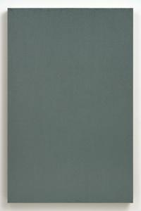 Gray Green Studio Painting