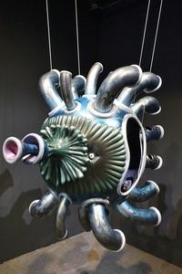 宇宙魚Ficco_玻璃纖維FRP_120x100x60cm_