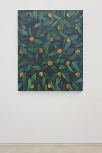 Untitled (orange painting)