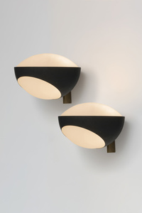 Set of 4 wall lamps